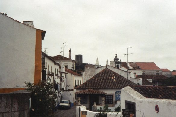 the town of Obidos